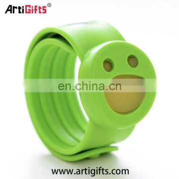 Hot product mosquito repellent silicone slap bracelet