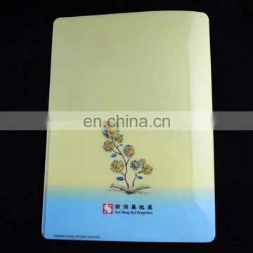 Wholesale personalized logo printed a4 plastic pocket folder