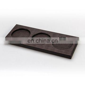 Experienced Manufacture High Quality Leather Custom Cup Coaster