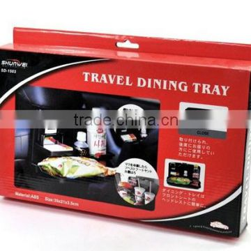 Trade Assurance Seller ABS Plastic car dining tray