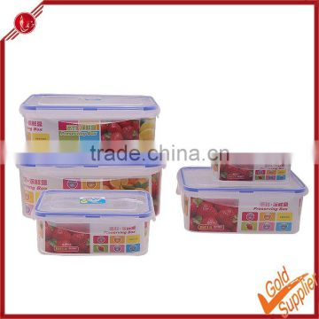 Plastic storage box/storage container to keep food hot/china manufacture