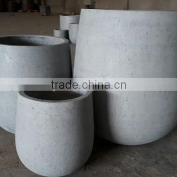 [Ecova Shop] Concrete planter reinforced by fiberglass