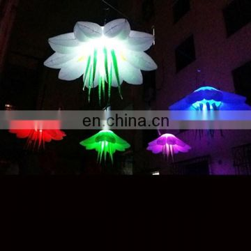 2018 hot sale diameter1.5m inflatable flower for wedding decoration