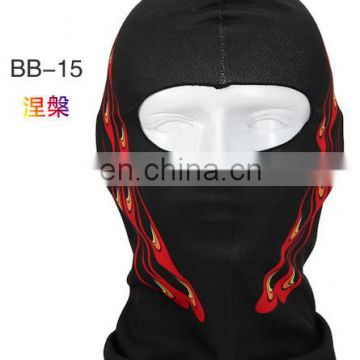 Waterproof Facekini Sun Protection motorcycle face mask