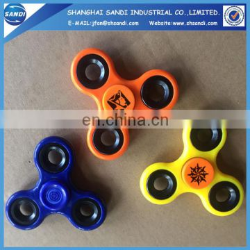 High quality custom logo printed plastic hand spinner
