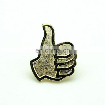 Christmas Gift promotion badge sports gold silver lapel pin