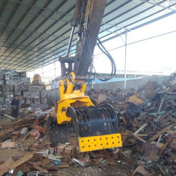 Hydraulic Rotating Demolition Grapple for CAT330 Excavator