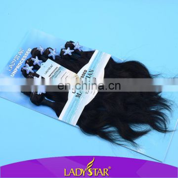 100% unprocessed Malaysian human hair body wave/virgin Malaysian hair extension