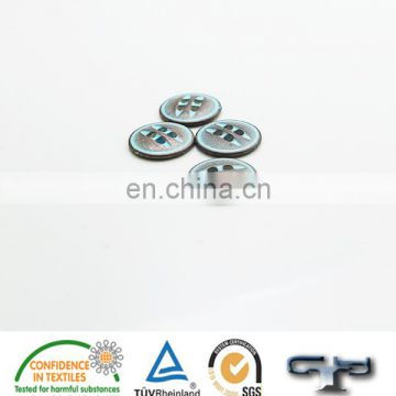 Alloy fancy four hole sew button