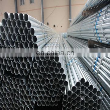 GI pipe factory all size/specification round steel pipe galvanized steel coil