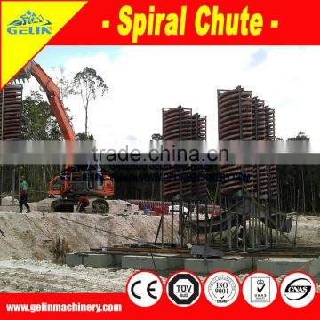 Benefication zircon mine spiral