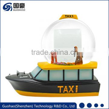 Business souvenir of ship Snow globes