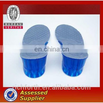 silicon shoe insoles with height for shoes