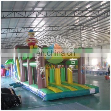 Pirate Inflatable Obstacle Course