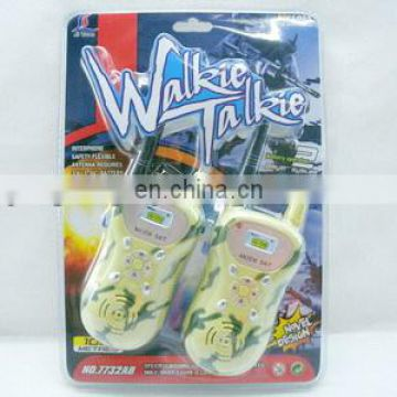 plastic boy toy kids walkie talkie