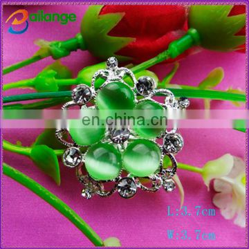 2015 newest shinning bailange custom rhinestone plating antique garment button for garment accessory
