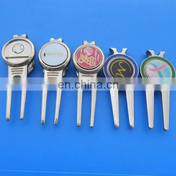 customized golf divot tool/ball marker/hat clip for golf club