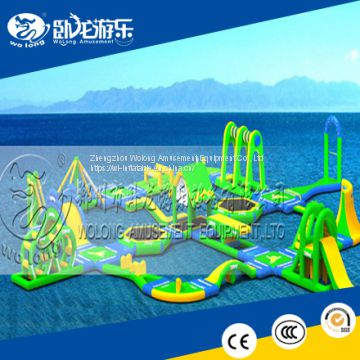 Open Water Inflatable Floating Water Park,Water Sports Park,Water Games Park factory supply
