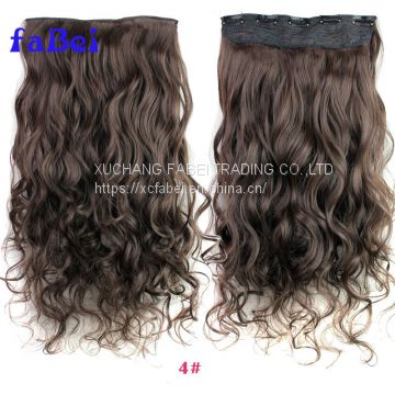 Top virgin  peruvian human hair 100 clip in hair extension, virgin hair
