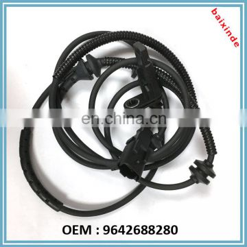 Auto parts ABS Wheel Speed Sensor For PEUGEOT 407 407SW CITROEN C6 OEM 9642688280