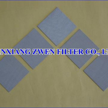 Stainless Steel Sintered Filter Sheet