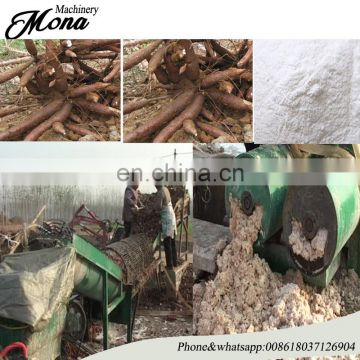 cassava starch processing machine/potato starch making machine /starch extruding production line