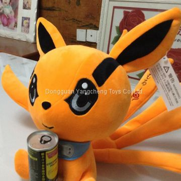 Big ear monster doll 2018 new cartoon creative plush doll can come to the drawing sample custom wedding gift
