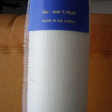 High Tensile Strength Fiberglass Mesh Fabric Roll Reinforced Mesh