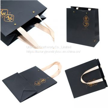 China custom brand logo printing kraft bag packaging gift paper bags with your own logo Urbrand