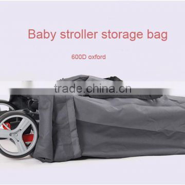Fashion Unisex large space baby stroller travel bag