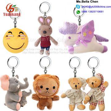 custom animal key chain owl shark monkey rabbit koala unicorn