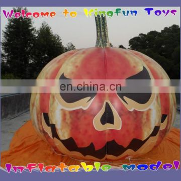 PVC inflatable helium pumpkin for Halloween 2014