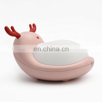 New USB rechargeable desk lamp ,cute cartoon Led night pet lamp,small led night light for children