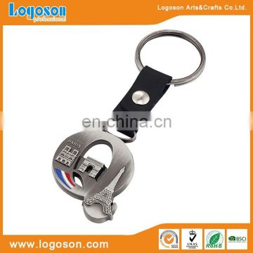 Christmas gift of keychain letters engraved keychain