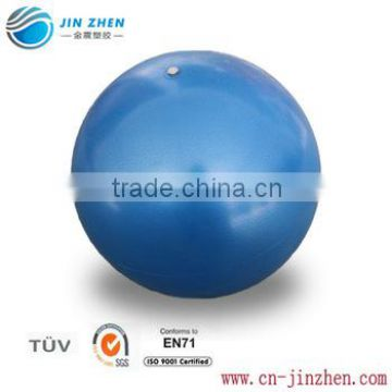 Mini Pilates ball inflates easily with included straw                                                                         Quality Choice