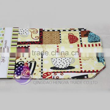 2015 Customized printed dining restaurant table mats