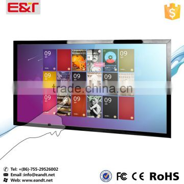 "Large size USB port Infrared 82"" touch screen,IR touch screen overlay kit,ir touch panel frame for Kiosks"