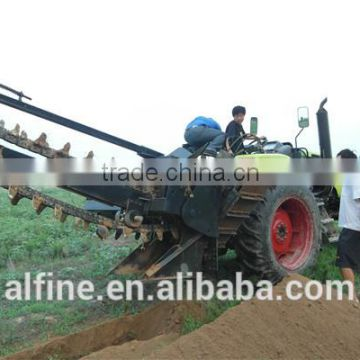 CE approved reliable quality 3 point hitch ditch witch trencher of