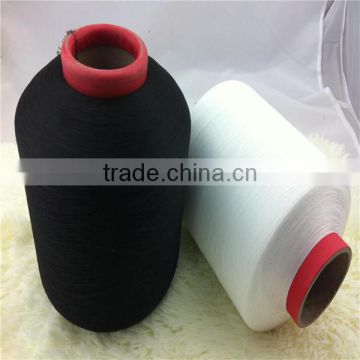 Polyester spandex covered yarn 2030 ACY elastic yarn
