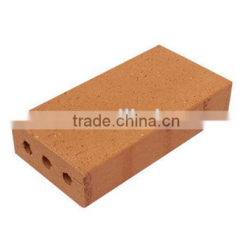 Thin fire brick, mold for interlocking refractory brick