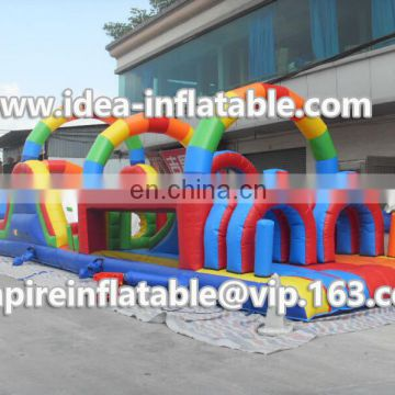 Good quality Inflatable obstacle,adult inflatable obstacle course for sale ID-OB021