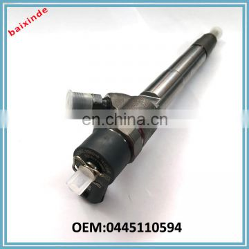 Auto spare parts ISF2.8 Diesel engine parts Common rail fuel Injector 0445110594 for Foton truck