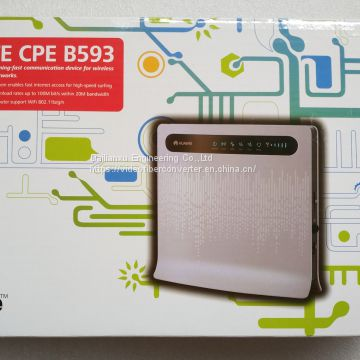 Brandnew portable carry around huawei B593s-22 Lte 4G unlocked UK plug wireless router WIFI modem all countries can use