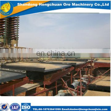 Low Price Gold Separating Machine Mining Shake Table For Mineral Separation Equipment