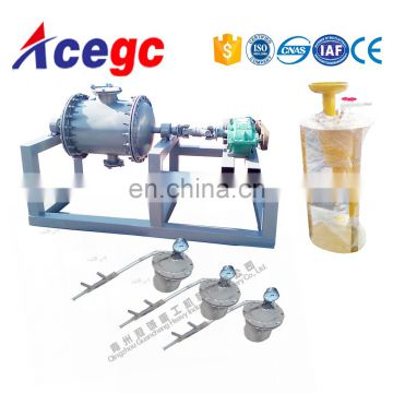 Mercury and gold amalgamating machine getting pure gold form gold concentrate