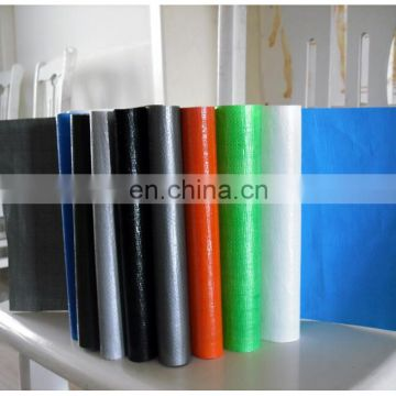 PE tarpaulin waterproof and fireproof recycled plastic sheet