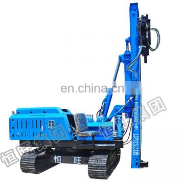 3m 6m pole install hammer pile driver with hydraulic system