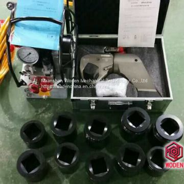 Hex sockets for square drive hydraulic torque wrench in wodenchina 1-1/2