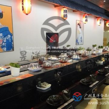 Sushi conveyor factory: michaeldeng@gdyuyang.com