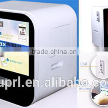 photo booth printer easy operated standing mode display photo video image xxx visa advertising led